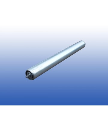 rollenbaanrol staal - 30cm - Ø50mm - stalen as